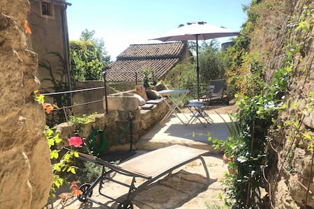 maison HOMAN - magnifique jardin/terrasse suspendu