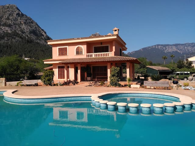 Perfect holidays house in Sierra de Tramuntana - Palmanyola - Hus