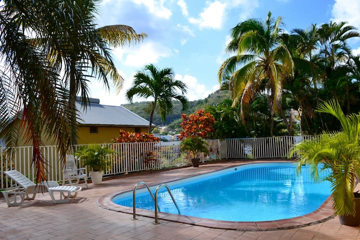 Location Martinique Sud (Le Marin) avec Piscine
