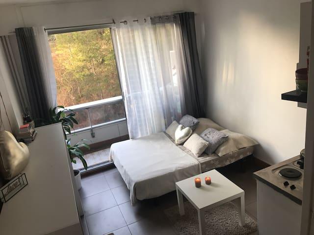 Studio privilégié+balcon & parking - Marseille - Appartement en résidence