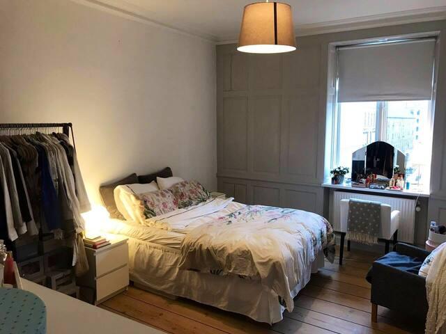 Central room in Copenhagen- modern apartment