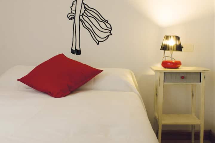 Habitaciones en el corazón de Gijón