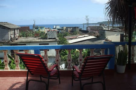 Seaview Room with private entrance - Baracoa - Apartament