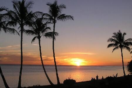 Ocean front condo in Molokai, Hawai - Kaunakakai - 公寓
