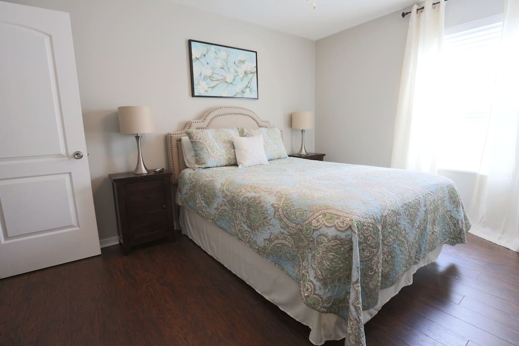 Both bedrooms have been completely remodeled with new queen size beds and furnishings. Non smoking unit.