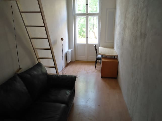 Practical balcony room