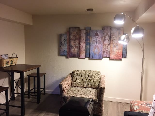 Brockway 1 Bedroom kitchenette with a view