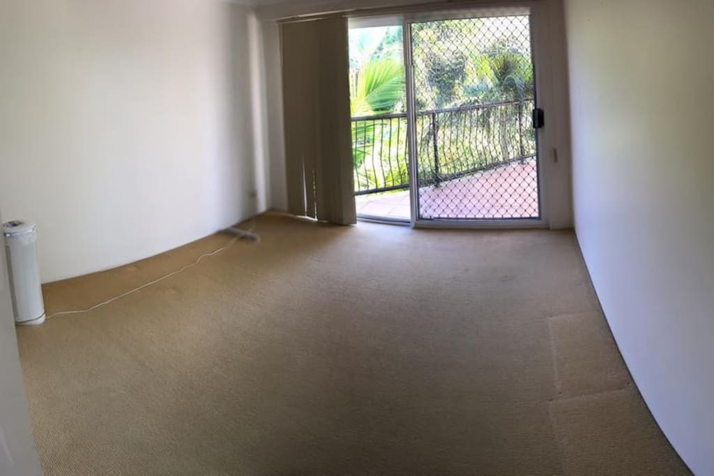 Spacious Bedroom with Double Futon Bed available