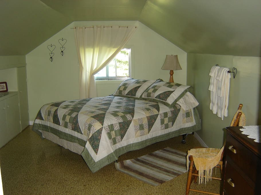 Large upstairs bedroom.