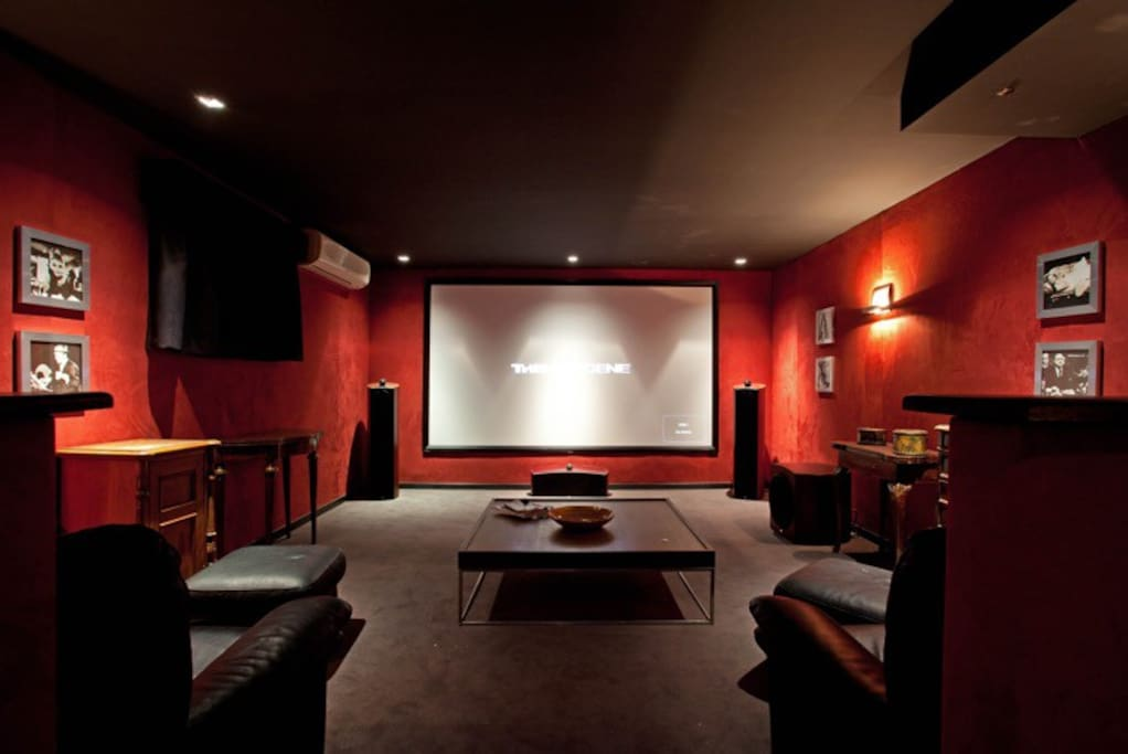 Full Professional Cinema with HD Projection & Surround Sound