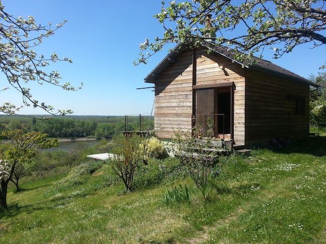 Maison de pêcheur  bord de Loire - germigny sur loire - Rumah