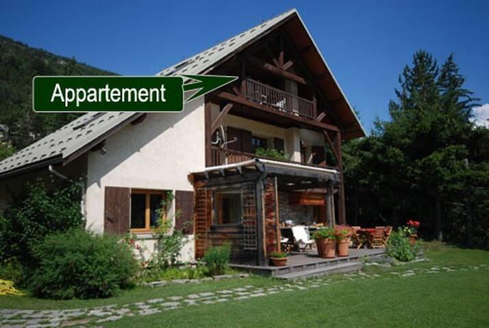 Bel Appartement  plein sud 4-5 pers - La Salle-les-Alpes - Apartamento