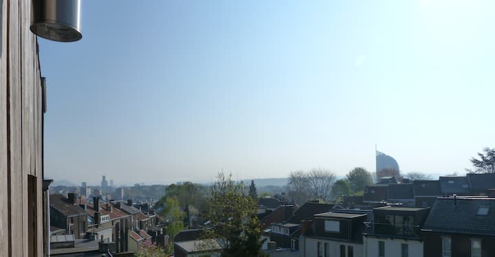 Liège'Studio 50M² avec terrace