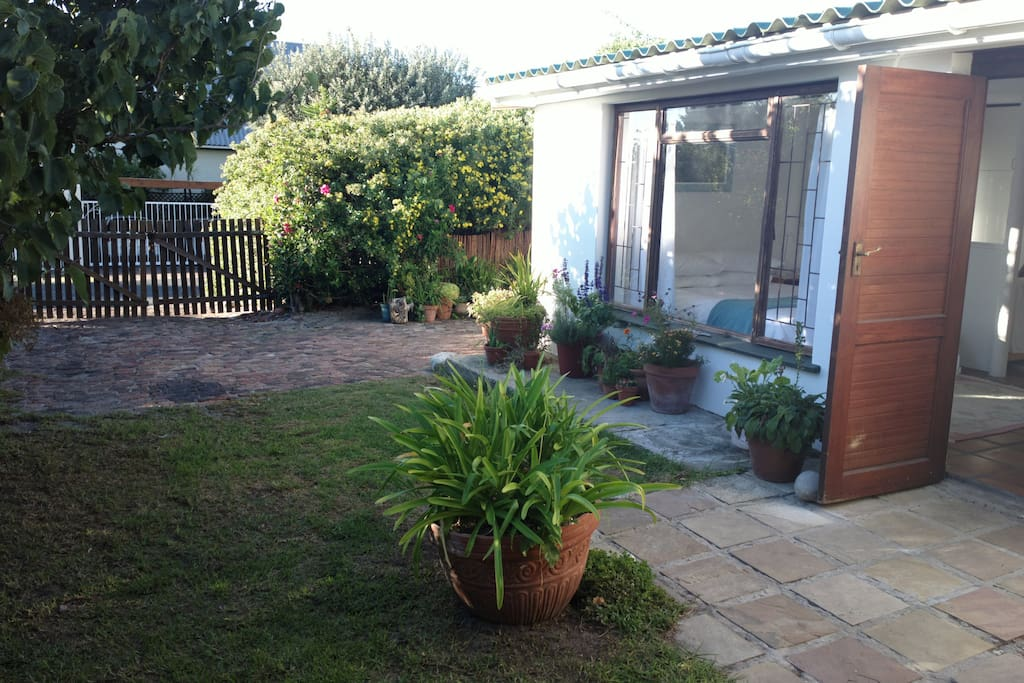 Private entrance and off-street parking with own garden area