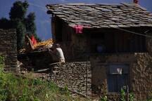 Village house near by