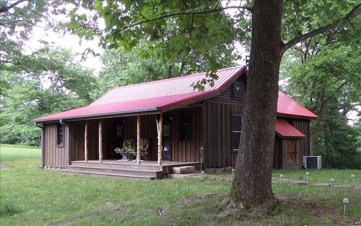 War Eagle Homested Cabin, Beaver Lake, 50 Acres, Trails, Deer, Lake Access