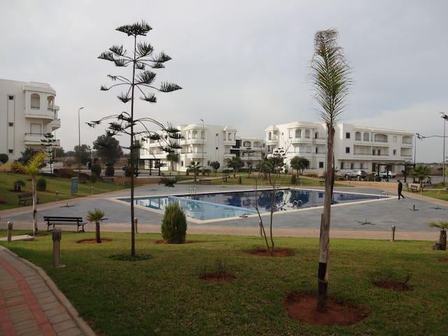 appart  de rêve front de mer - Ben Slimane - Appartement