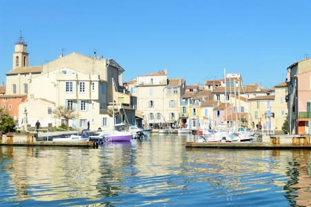 """Cozy flat in """"Venice of Provence""""!! - Martigues - Wohnung"""