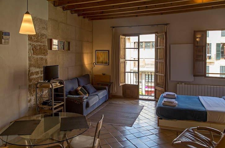 Estudio en el centro de Palma. - Palma de Mallorca - Apartament