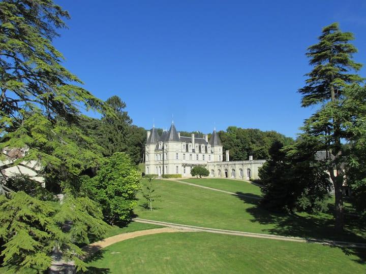 Château de la Barbelinière + pool