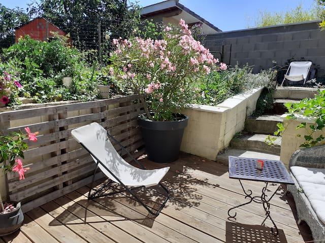 Zen et Nature Logement indépendant dans maison