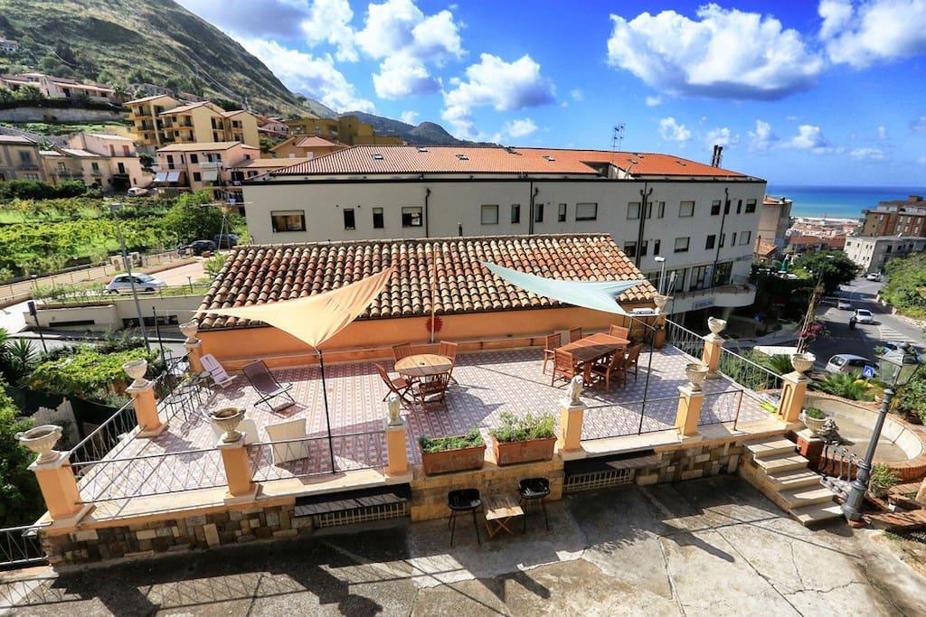 Villa Caterina - Solarium with barbecue