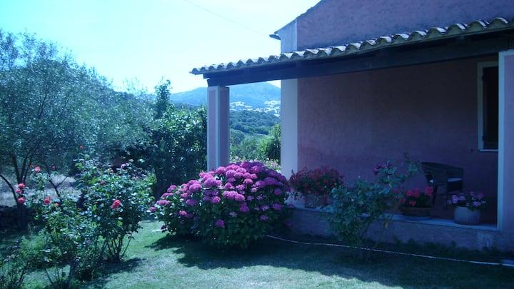 Camera privata in villa in campagna