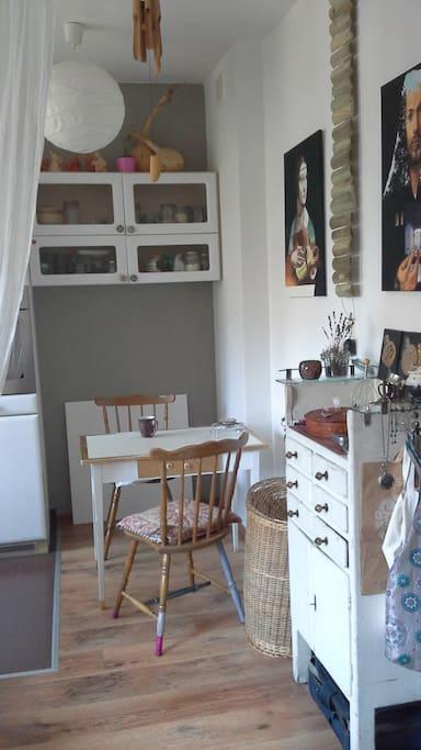 second part of kitchen