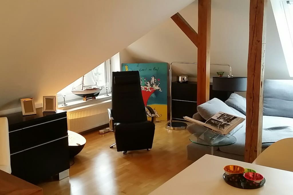 city loft 2 z k che bad dachter wohnungen zur miete in oldenburg niedersachsen deutschland. Black Bedroom Furniture Sets. Home Design Ideas