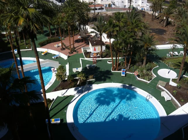Charming 1 bed flat with views - Maspalomas - Departamento