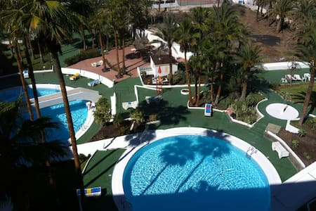 Charming 1 bed flat with views - Maspalomas - Appartement