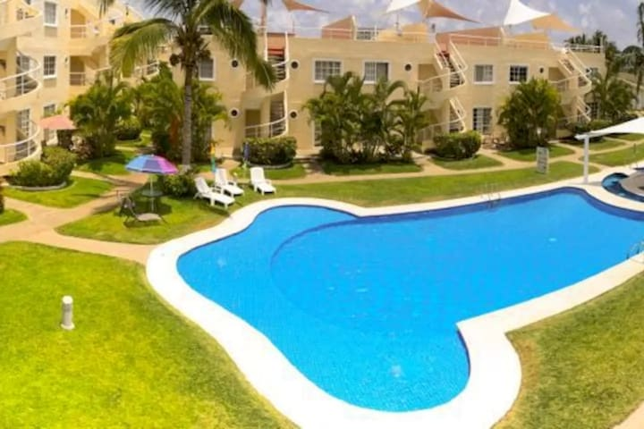 Departamento 9 pers. Zona Diamante - Acapulco - Lägenhet