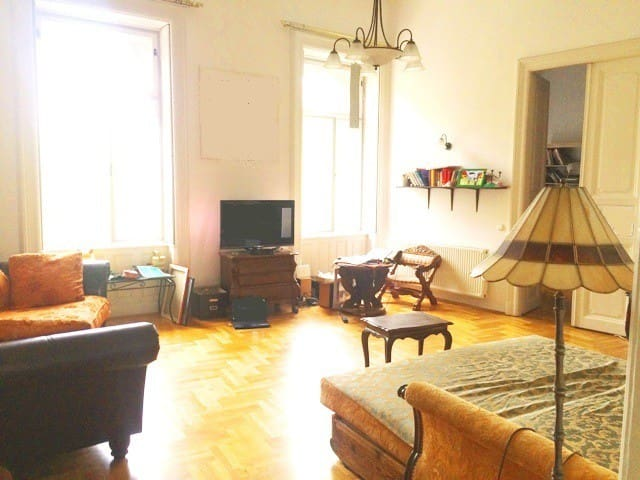 My place in a prestigious palace at Andrassy Ave - Budapest - Apartment