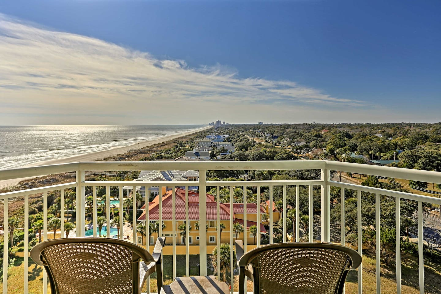 Fall in love with Myrtle Beach at this 2-bedroom, 2-bath vacation rental condo!