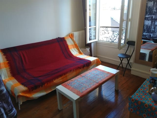 Un studio très calme au Denfert-Rochereau
