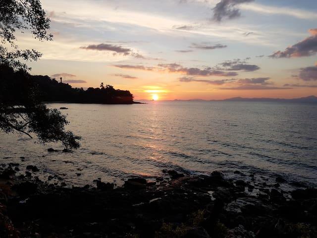 Sangsuree - Sea view Bungalow - Ranong - Diğer