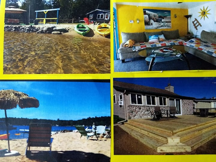 Special offer! Beach  front cottage and Love shack