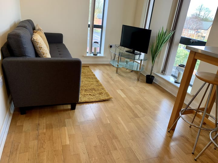 Spacious 3 Bedroom Apartment near Manchester City Centre with all Amenities
