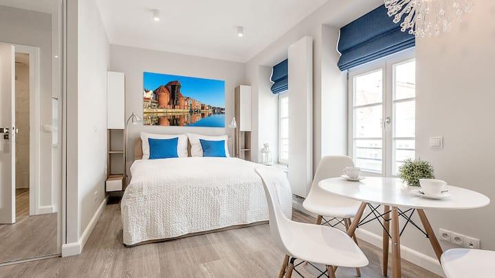 Blue Gdansk Apartment
