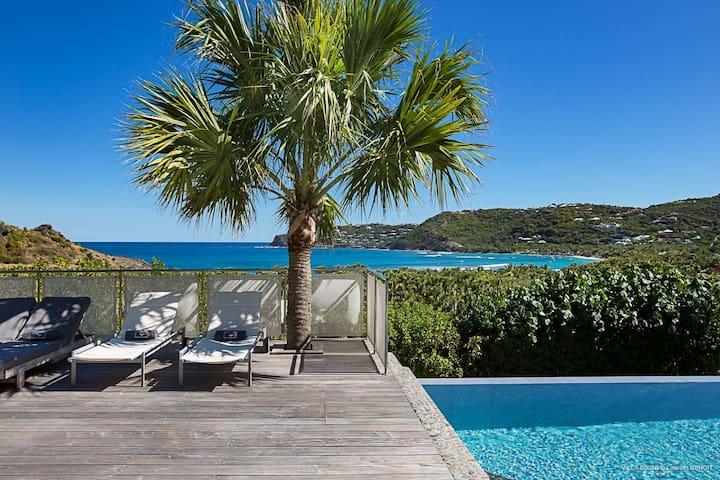 Bikini Villa-2 BR- Lorient Bay - Gustavia - Casa de campo