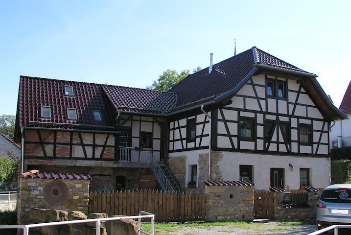 Zur Krautheimer Mühle -Ferienwohnung