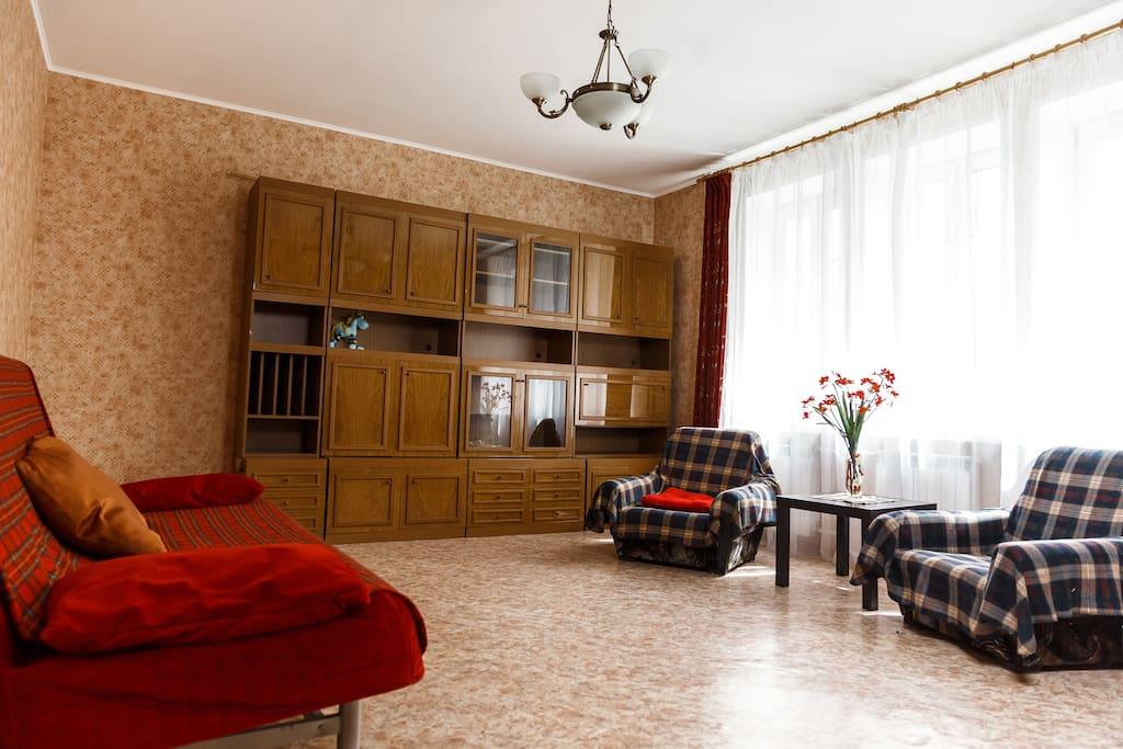 Большая комната-20кв.м