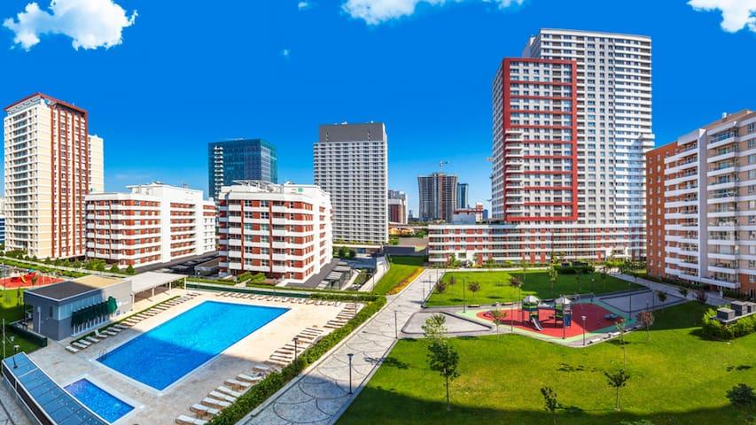 شقة فخمة amazing apartment near mall of İstanbul