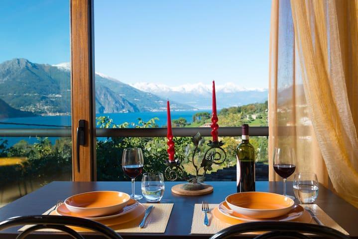 Superb LakeView Cottage in Bellagio - Bellagio - Alpstuga