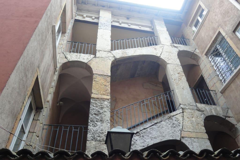 Traboules - quartiers vieux lyon