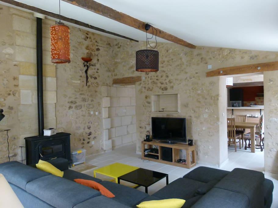 Maison charme 160m2 pr s bordeaux maisons louer for Maison louer bordeaux