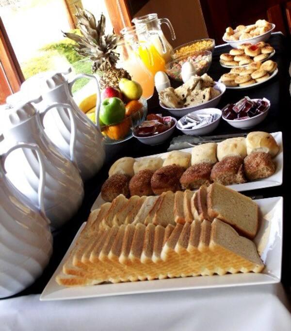 Desayuno, breakfast