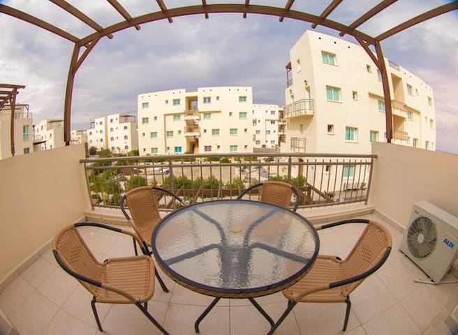 Aphrodite Resort - beach apartament 4 people