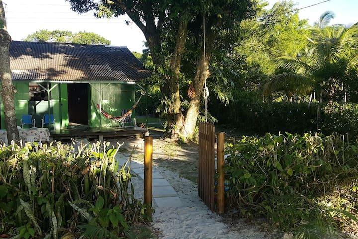 Casa pé na areia em Encantadas, Ilha do Mel