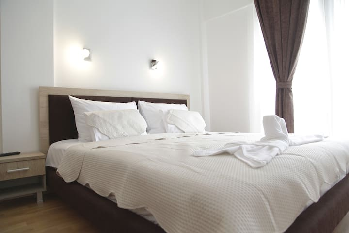 Exclusive bedroom in hotel Korab Trnica